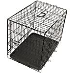 "Oxgord 42"" Wire Metal Cage Pet Cat / Dog Double Door Kennel Crate FREE Divider - 2014 ly Designed, 42"" x 27"" x 30"" by OxGord"