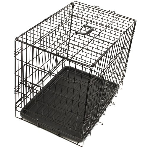 OxGord Pet Kennel Folding Stainless Steel Wire