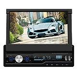 Car MP5 Player, LiChiLan T100 7 Inch Car Stereo MP5 Player RDS FM AM Radio BT USB AUX Head Unit
