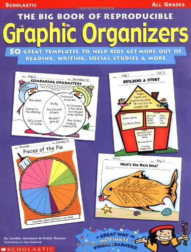 The Big Book Of Reproducible Graphic Organizers: 50 Great Templates To Help Kids Get More Out Of Reading, Writing, Social Studies And More