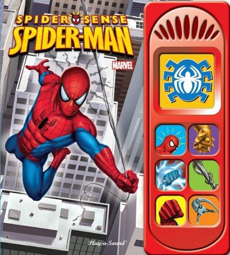 spider sense spiderman little sound book niftywarehouse