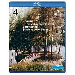 Anton Bruckner - The Mature Symphonies: Symphony 4 [Blu-ray]