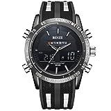 Black Sport Watch Men Wrist Watch Fashion Mens Military Electronic Clock Male BINZI 2017 Casual Army Digital Watches Relogio Masculino