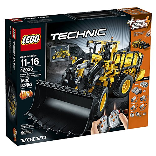 Remote Controlled 2-in-1 VOLVO L350F Wheel Load Building Set, 1636 Pieces (Volvo L350f Wheel Loader compare prices)