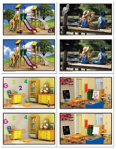 Carson Dellosa Key Education What's Missing? Learning Cards (845032) Picture