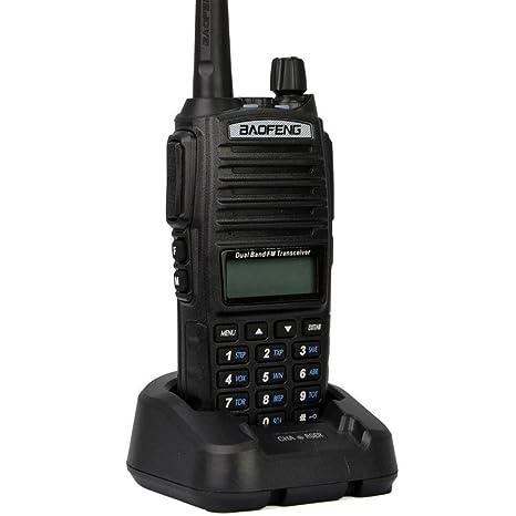 Mengshen® Baofeng UV-82 Talkie-Walkie High Power Big battery than d'autres Radio à jambes à bande double 136-174 / 400-520 MHz FM Ricetrasmittente Interphone à deux voies à longue portée, BF UV-82Ou