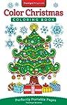Color Christmas Coloring Book: Perfec...