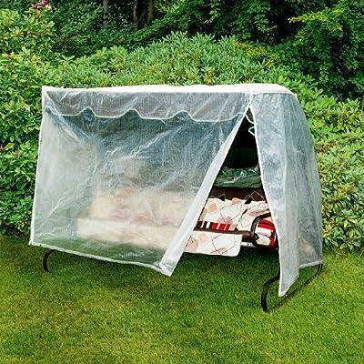 Schutzhaube Hollywoodschaukel Grösse ca. 210x150 cm, transparent von Hummelladen bei Gartenmöbel von Du und Dein Garten