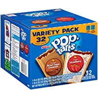 Pop-Tarts, Variety Frosted Strawberry and Frosted Brown Sugar Cinnamon, 32 Count, 57.50 Ounce
