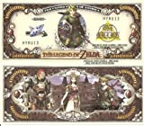 Novelty Dollar The Legend of Zelda Link One Million Dollar Bills x 4 New