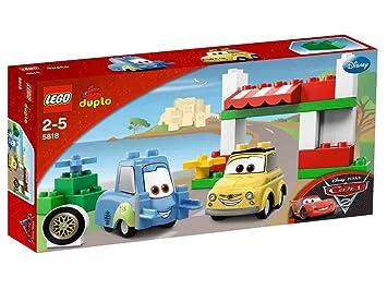 LEGO DUPLO Cars - 5818 - Jeu de Construction - Luigi et Guido en Italie
