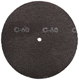 Glit 28426, Large Mesh Sandscreen Floor Pad with 6-mm Center Hole, Silicon Carbide, 8\