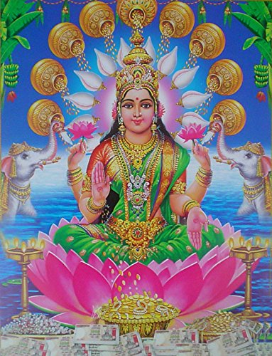goddess-lakshmi-poster-reprint-on-paper-20x16-inches