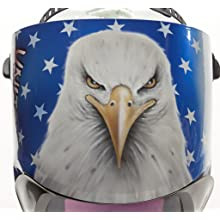 3M(TM) Speedglas(TM) American Pride Welding Helmet 100 with Auto-Darkening Filter 100V- Shades 8-12, Model 07-0012-31AP