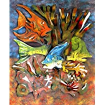 Tropical Fish Under the Sea Wall Art