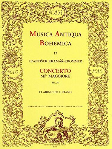 Concerto Opus 36 Mib Maj. --- Clarinette/Piano