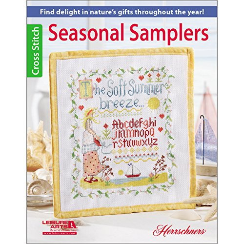 Leisure Arts Seasonal Samplers - 1