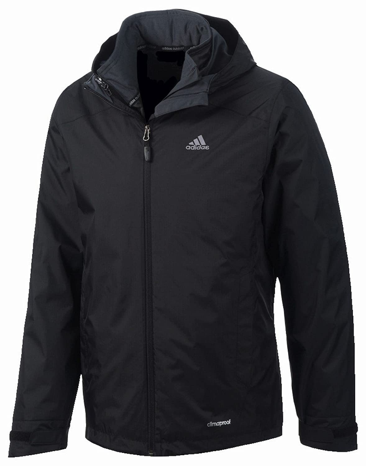 Adidas Padded Wandertag 3-in-1-Jacke Black