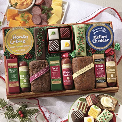 Lucky 13 Feast Food Gift from The Swiss Colony (Spreadable Creme Cheese compare prices)