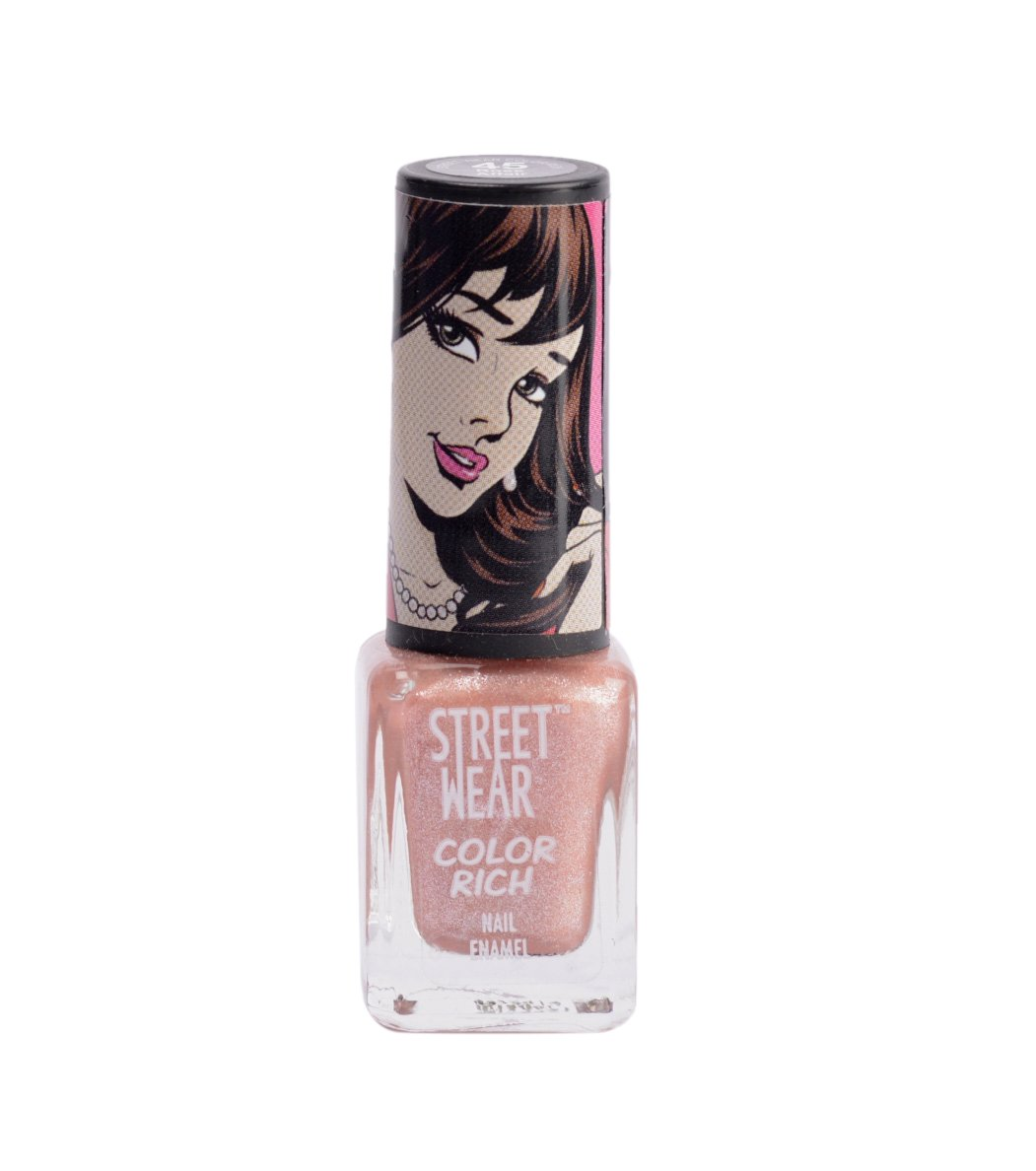 Buy Street Wear Color Rich Nail Enamel Revamp, Spill The Beans, 5ml Online  At Low Prices In India  Amazon