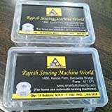 Rajesh 30 Bobbins For Any Automatic Sewing Machines (Singer/Usha/Brother/Rajesh)