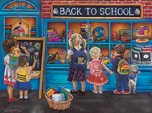 School Time 1000 Piece Jigsaw Puzzle by Sunsout Inc.