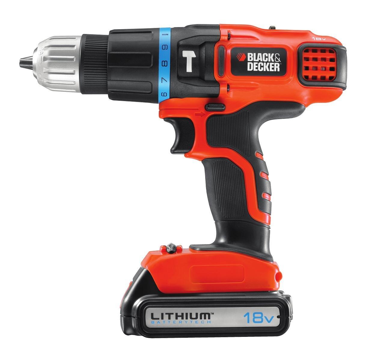 Black & Decker 18V Hammer Drill