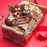 クリスマスケーキ ブッシュドノエル 濃厚ダブルチョコのブッシュドノエル ギフト プレゼント