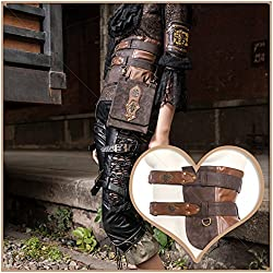 Steampunk Cosplay Victorian Fanny Pack Utility Belt Pirate Costume Girls Messenger Bags For Gothic Clothing