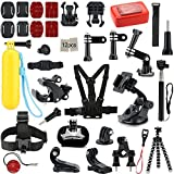 Action Camera Accessories Iextreme 25-in-1 Sports Accessories Kits for Gopro Hero 4/3/2/1 Camera
