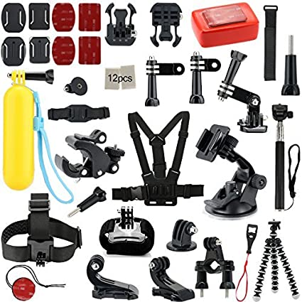 Action-Camera-Accessories-Iextreme-25-in-1-Sports-Accessories-Kits-for-Gopro-Hero-4/3/2/1-Camera