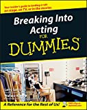 img - for Breaking Into Acting For Dummies book / textbook / text book