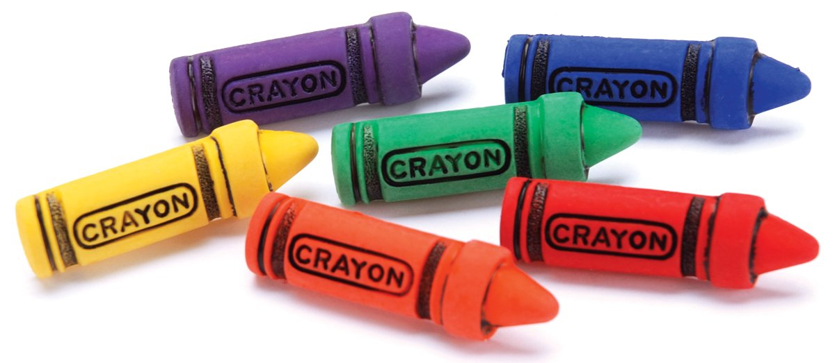 Crayon Buttons