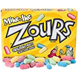 Zours Sour Chewy Candy 4.2 Ounce Theater Size Pack 12 Boxes