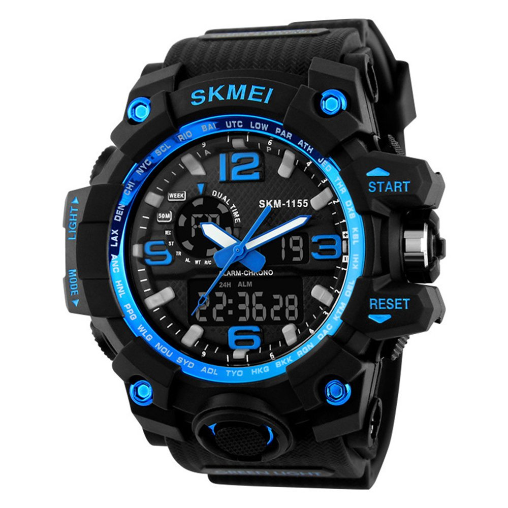 time to amp up your accessory game 10 best men s sports watches gosasa big dial digital watch s shock