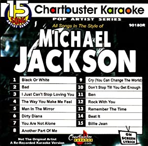 Chartbuster Karaoke: Michael Jackson