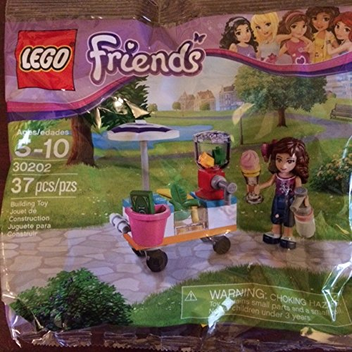 LEGO Friends Smoothie Stand Mini Set #30202 [Bagged] - 1