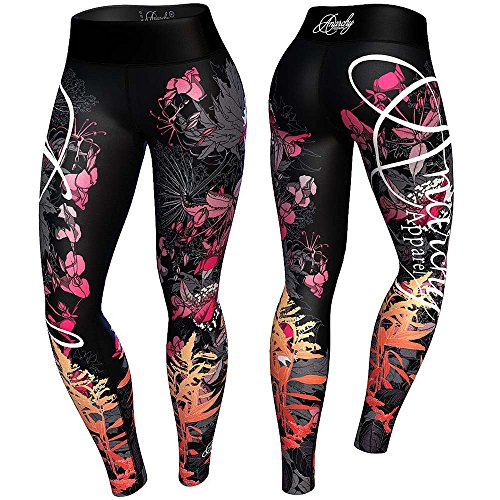 anarchy-apparels-leggings-floral-fitness-hosen-gym-pants-training-grosse-s