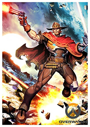 Poster Overwatch - McCree A3 (42x30 cm)