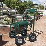 Water Hose Reel Cart 300 FT Outdoor Garden Heavy Duty Yard Water Planting New