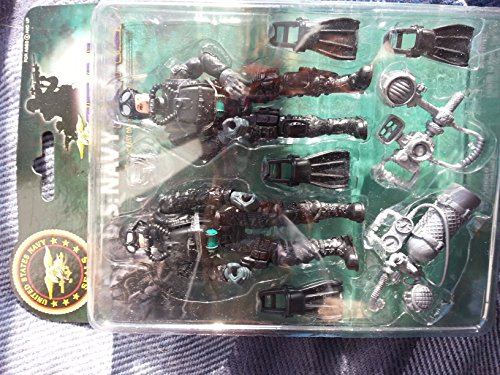 US NAVY SEALS FIGHTER MILITARY TOY PLAY SET ARMY SOLDIERS - 1