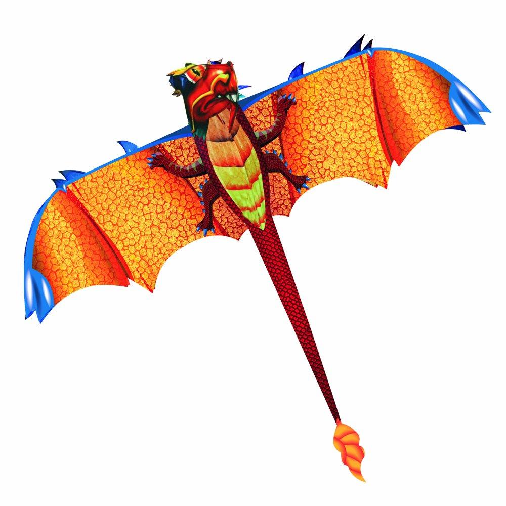Eolo 3D Pop-Up Dragon Kite - Dragon Kites