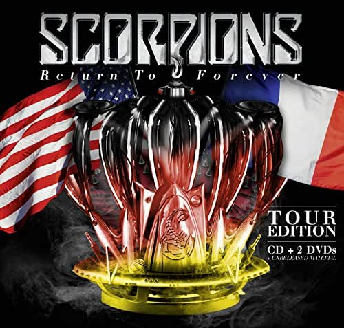 Return To Forever (Tour Edition) - Scorpions - 2016
