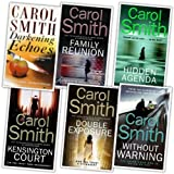 Carol Smith Carol Smith 6 Books Collection Pack Set (Family Reunion, Without Warning, Hidden Agenda, Kensington Court, Darkening Echoes, Double Exposure)