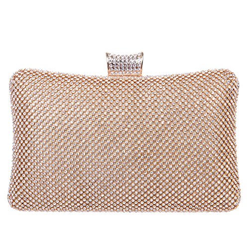 Fawziya® Big Clutch Purses for Women Rhinestone Crystal Clutch Bag