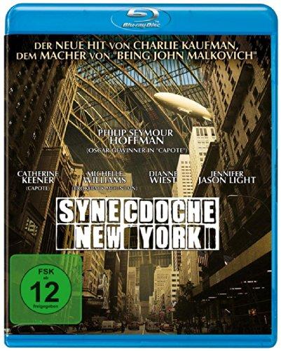 SYNECDOCHE NEW YORK (mit Philip Seymour Hoffman) [Blu-ray]