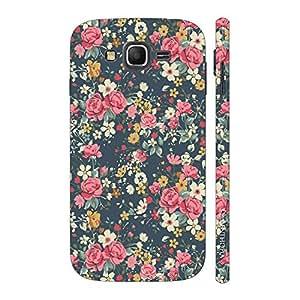 Enthopia Designer Hardshell Case Blue Blossom Back Cover for Samsung Galaxy J3 (2016)
