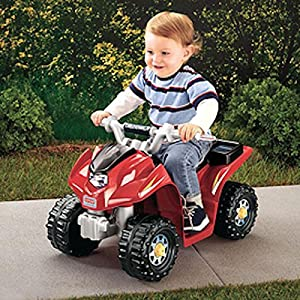 Power Wheels Kawasaki Lil Quad Electric Ride On W6214 Ebay