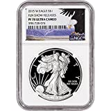 2015 W American Silver Eagle Proof $1...