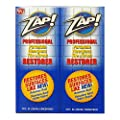 ZAP! Professional Cleaner Restorer Concentrate, Twin Pack from Zap! Products Inc